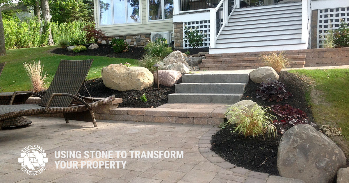 Using Stone to Transform Your Property's Landscape