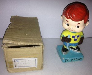 Tre Kronor doll with box