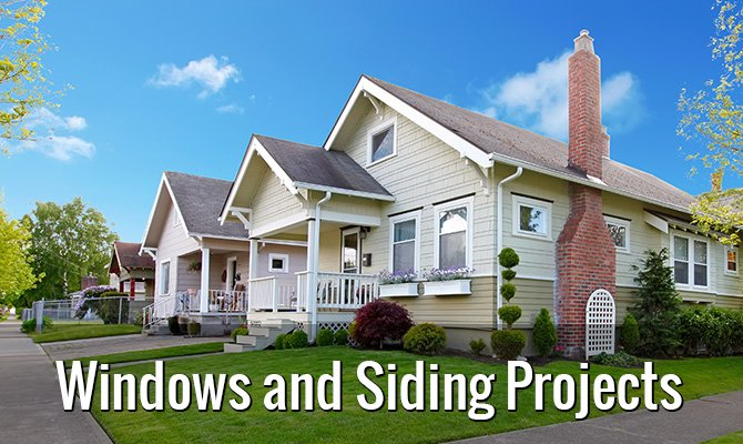 Windows and Siding Project in Hamburg