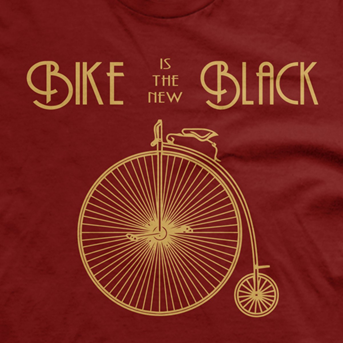 Bike is the New Black t-shirt