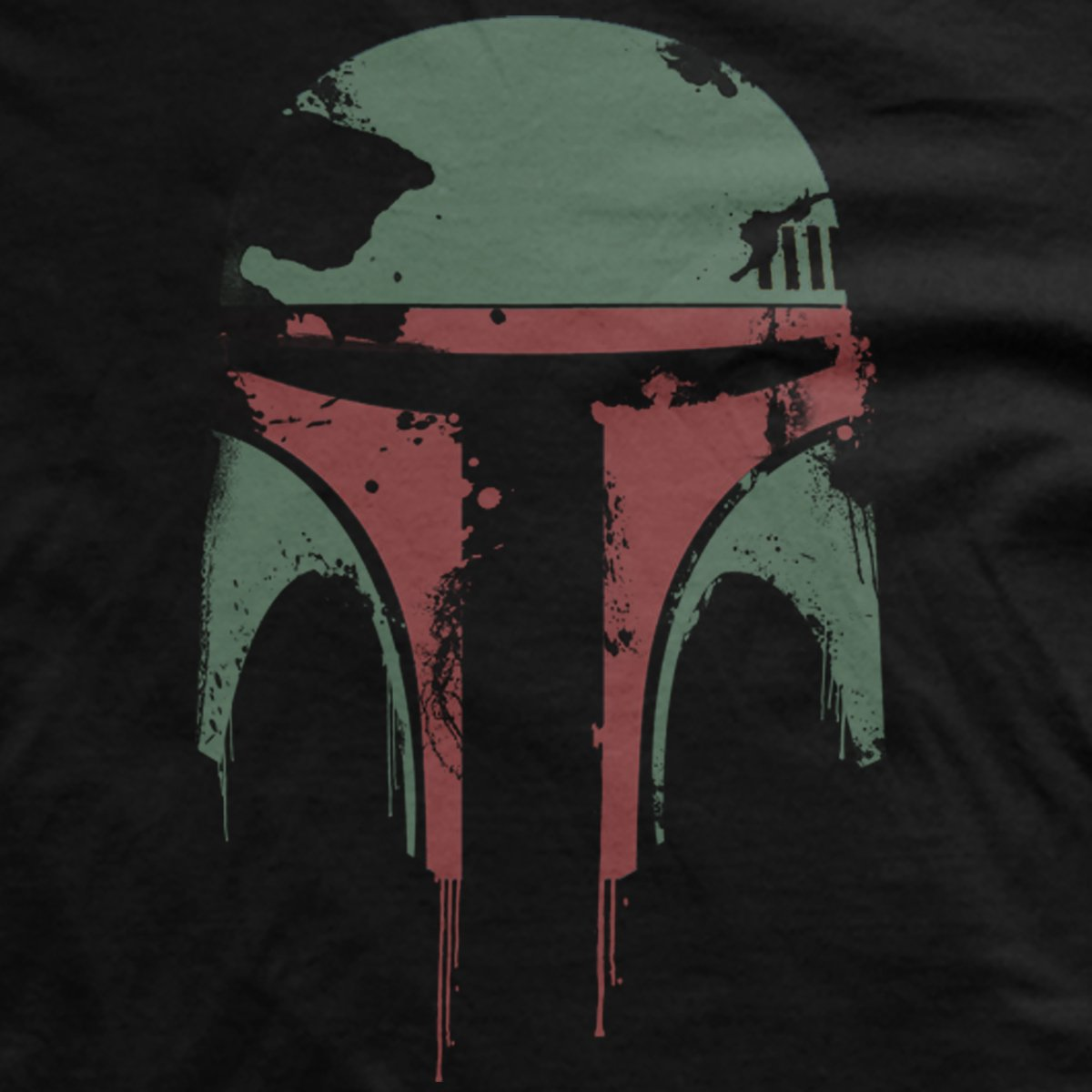 Distressed Boba Star Wars T-Shirt