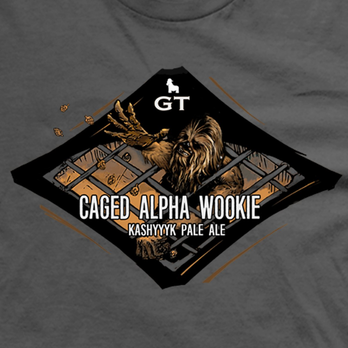 Caged Alpha Wookie t-shirt
