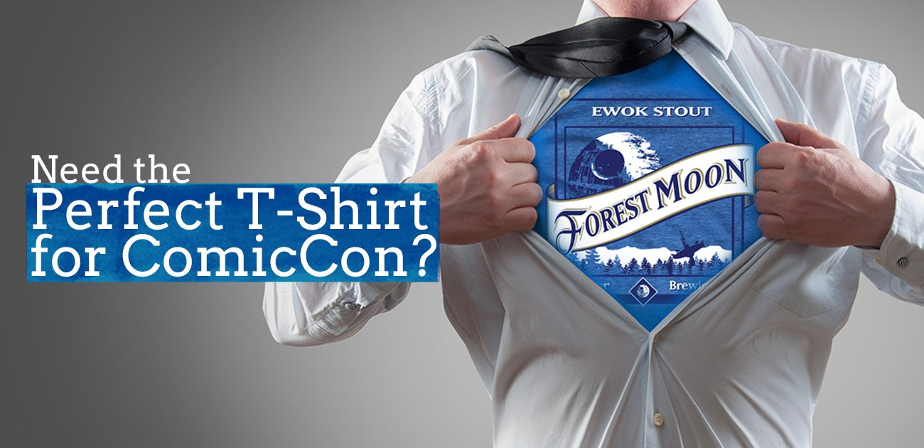 Need the Perfect T-Shirt for ComicCon? Check These Out!