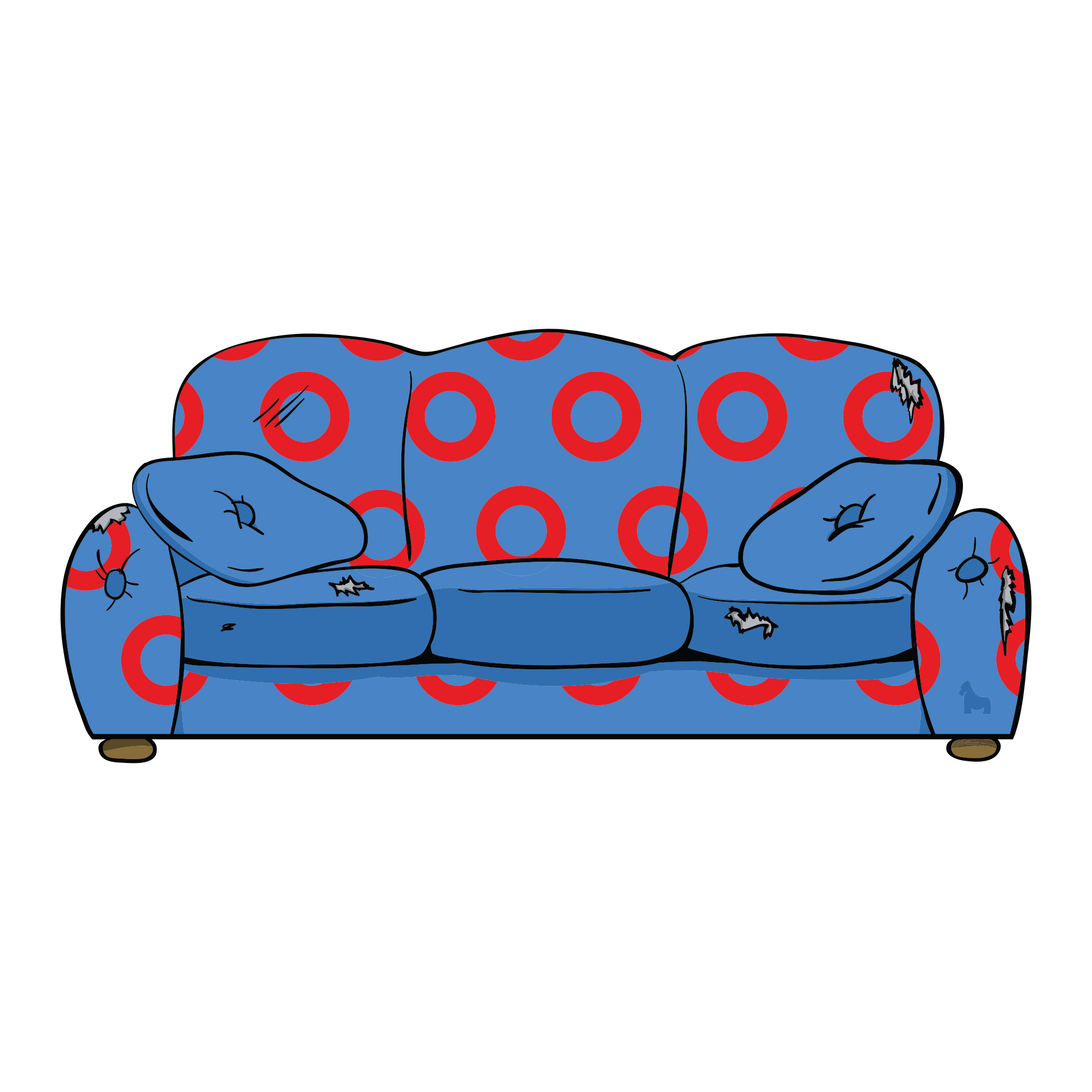 Couch Tour Sticker