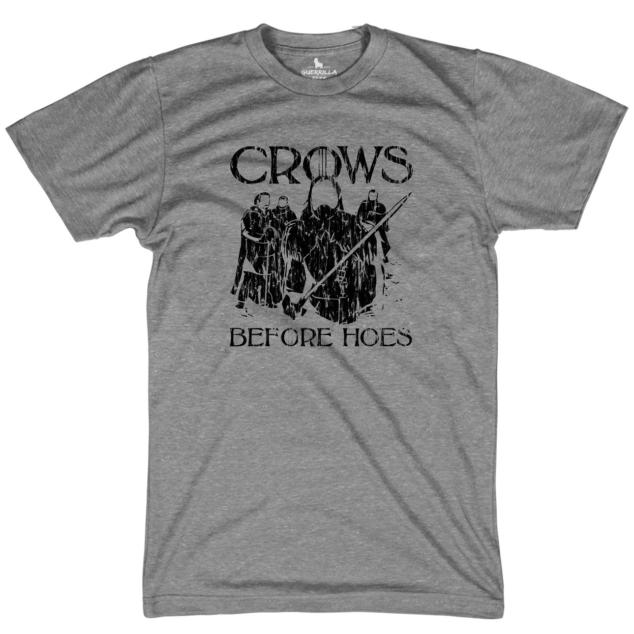 46cb2439d0 Crows Before Hoes T-Shirt | HBO Funny Game of Thrones Shirt