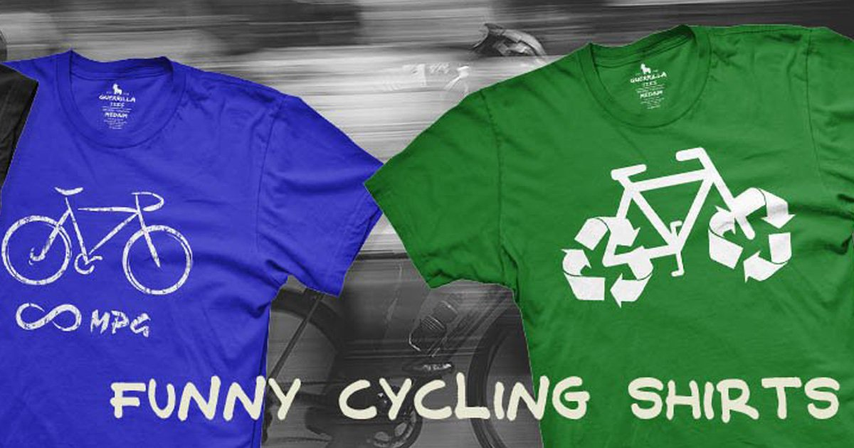 7 Funny Graphic Tees for Cyclists
