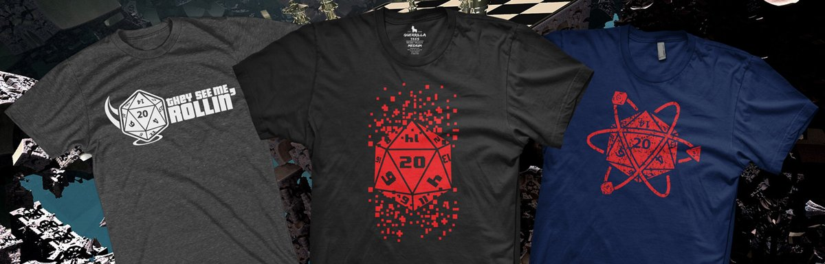 Dungeons and Dragons T-Shirts