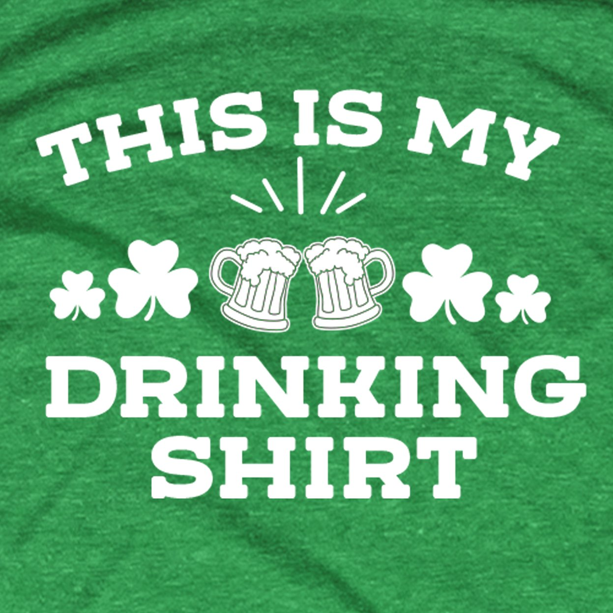 This Is My Drinking Shirt St Patty's Day Graphic Tee