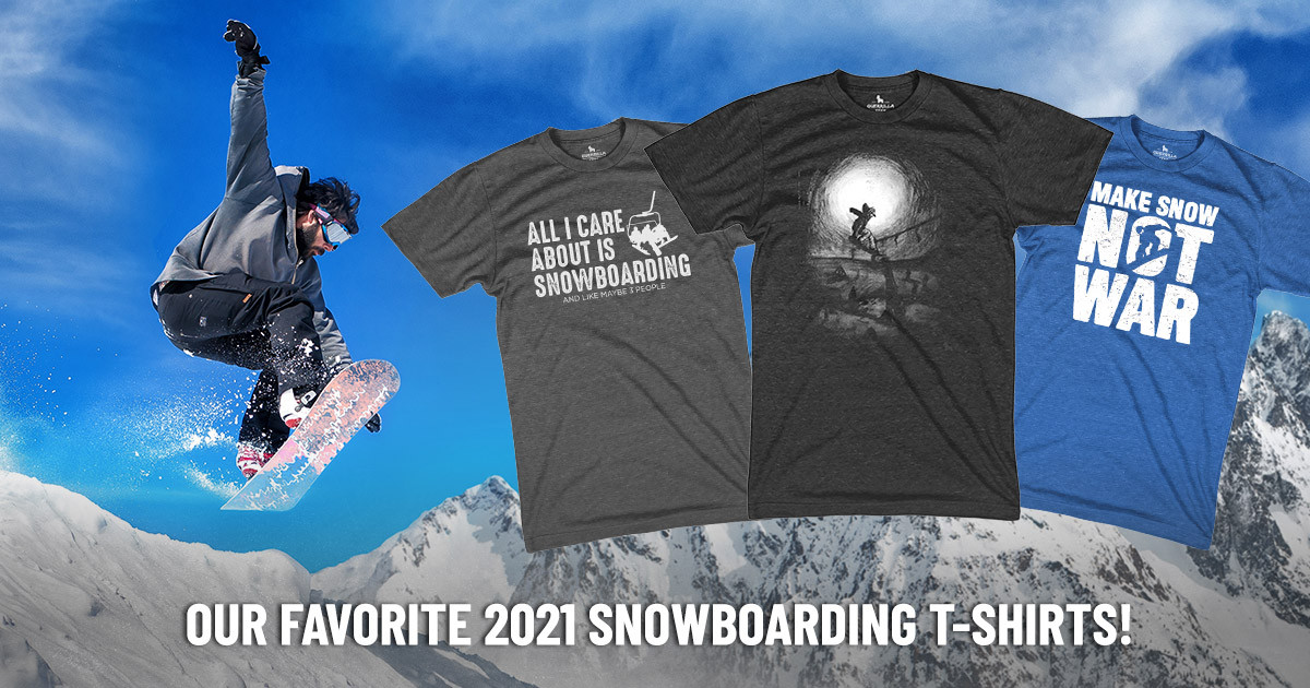 Check Out Our Favorite Snowboarding Graphic Tees for 2021