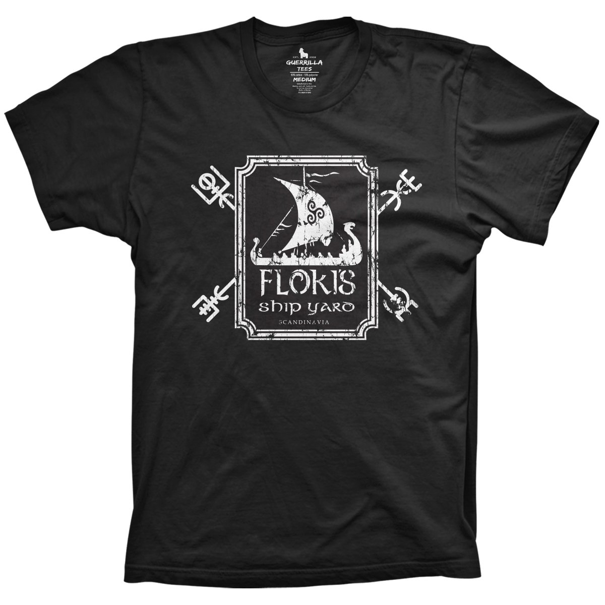 d4acba0e4 Flokis Ship Yard T-Shirt | Shop Vikings TV Show Shirts Online