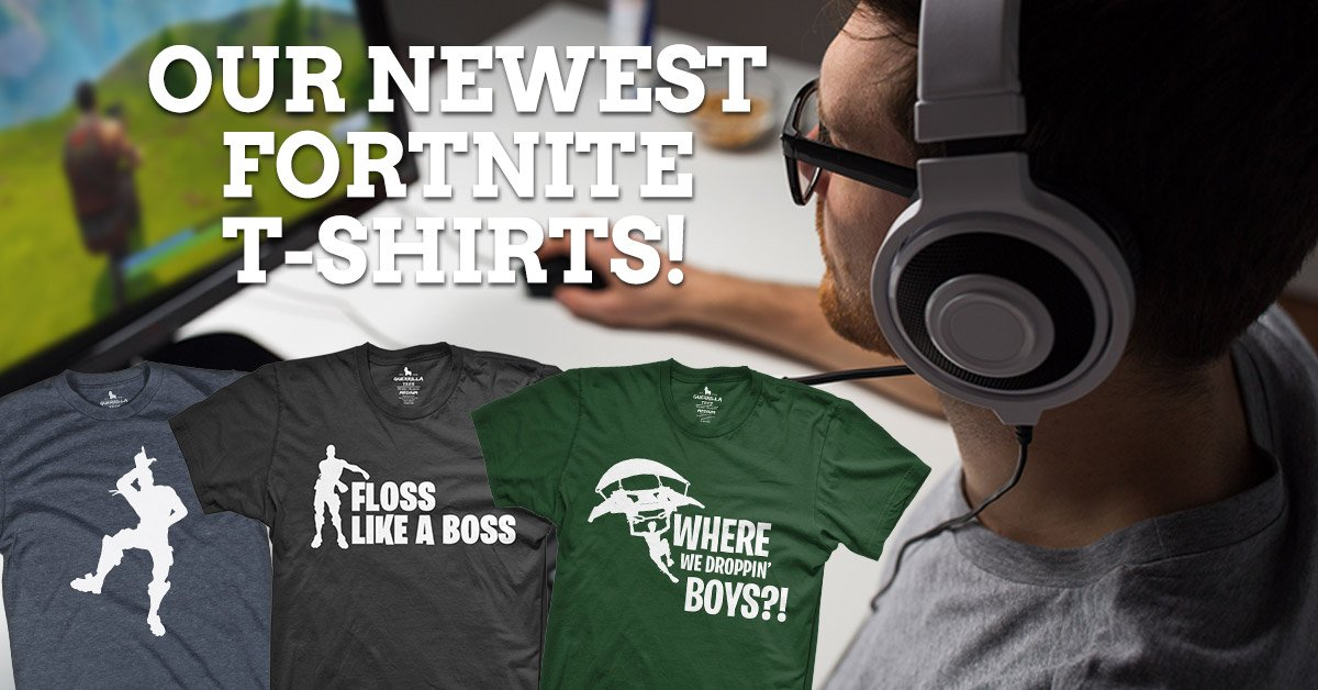 Check Out These New Fortnite T Shirts