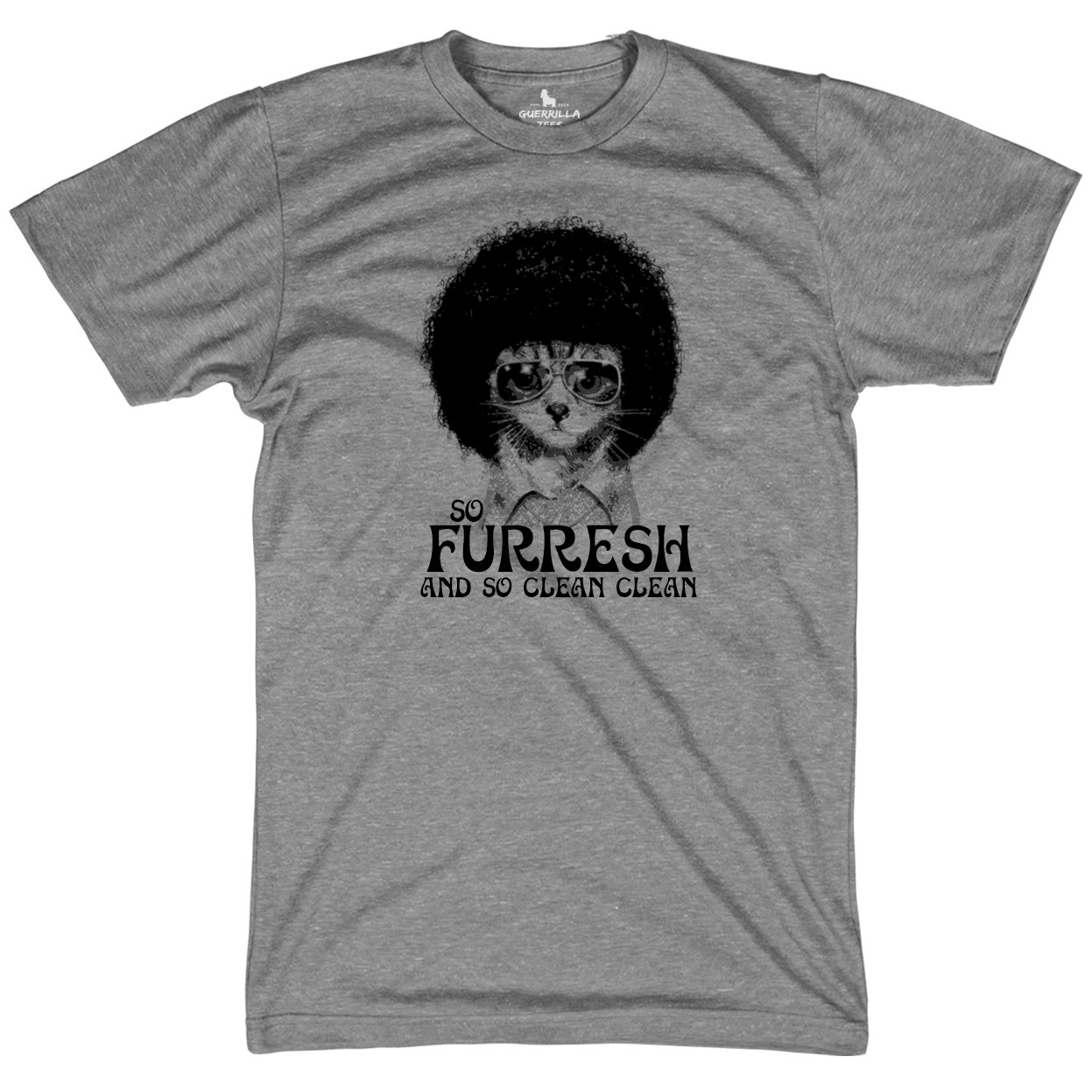 3b576236 Shop Novelty Tees | So Fresh and So Clean | Funny Cat T-shirt