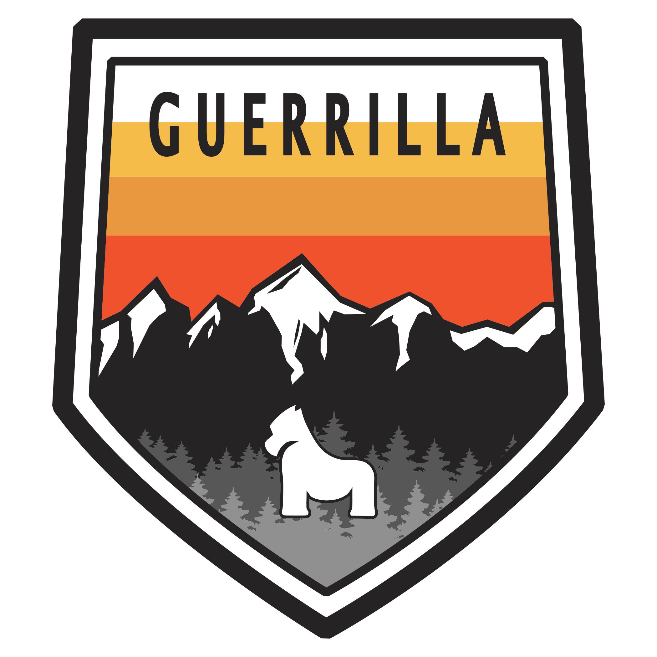 Guerrilla Badge Sticker