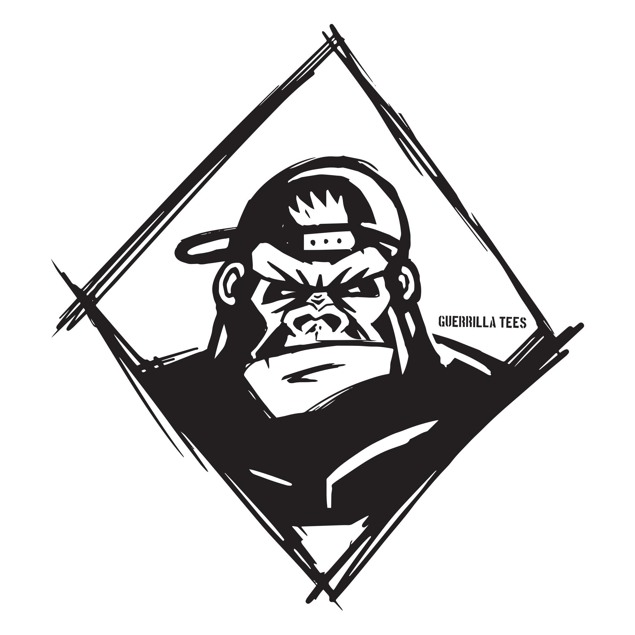Guerrilla Snap Back Sticker