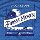Forest Moon Star Wars Parody T-Shirt