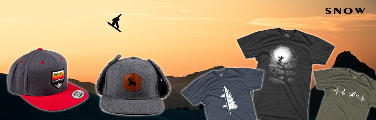 Guerrilla Brand Custom T-Shirts