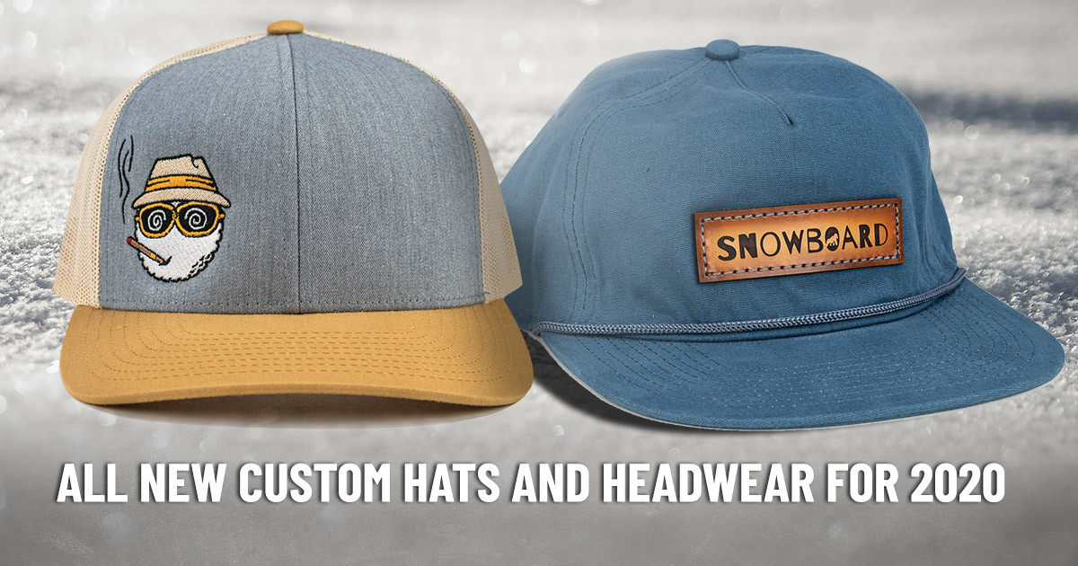 All New Custom Hats and Headwear for 2020