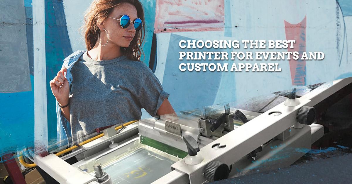 best custom apparel printing company