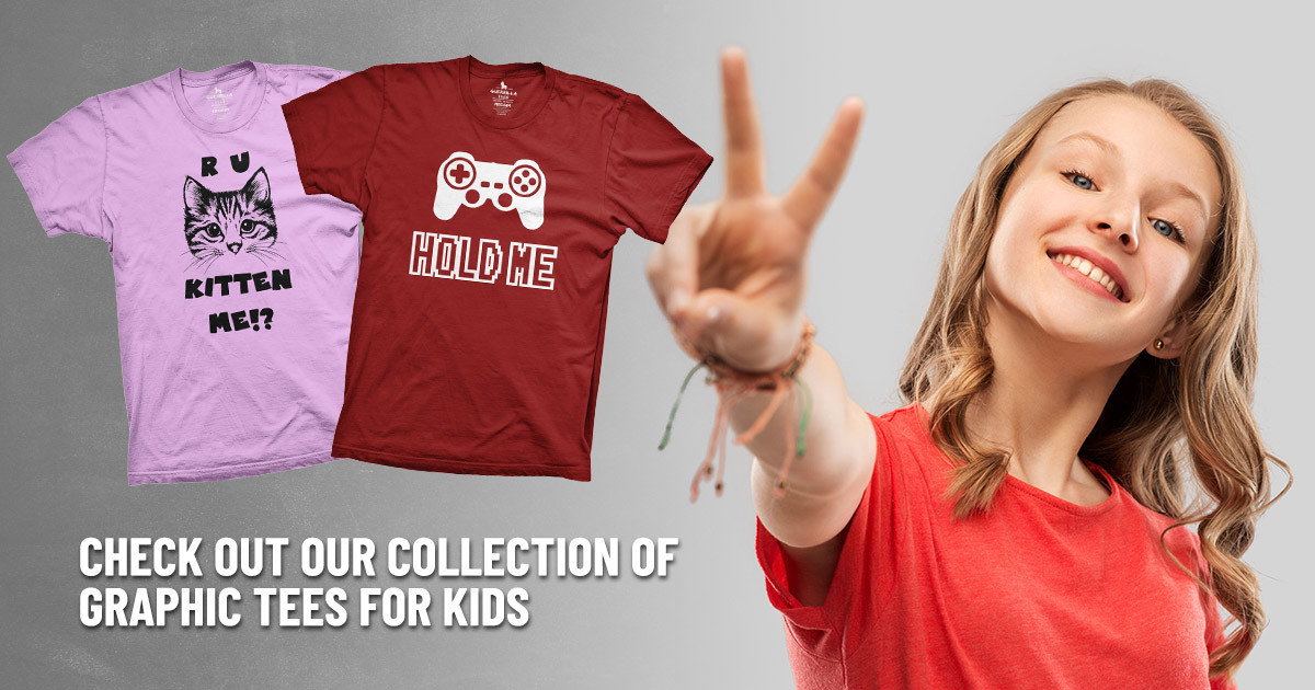 Check Out Our Collection of Graphic Tees for Kids
