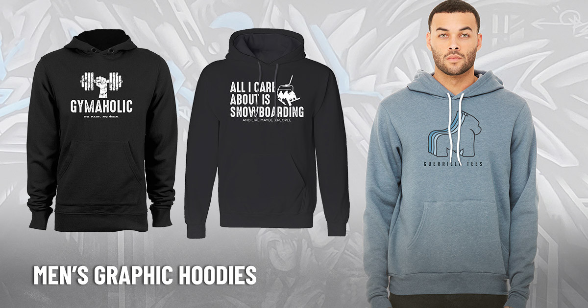 Men's Graphic Hoodies for Cool Weather Stylin