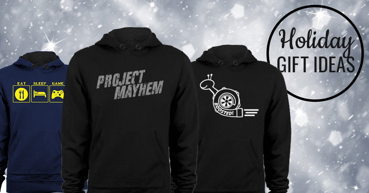 Graphic Hoodies Make Awesome Holiday Gift Ideas!