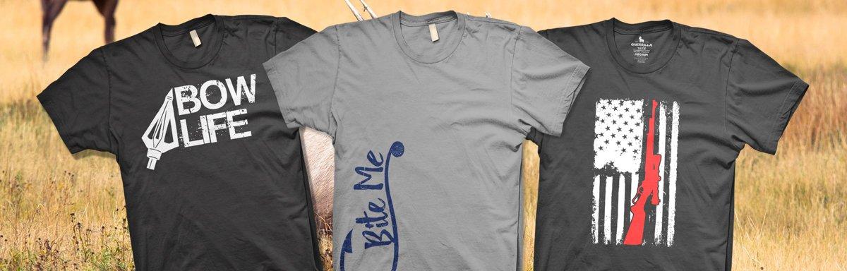 Hunting and Fishing T Shirts