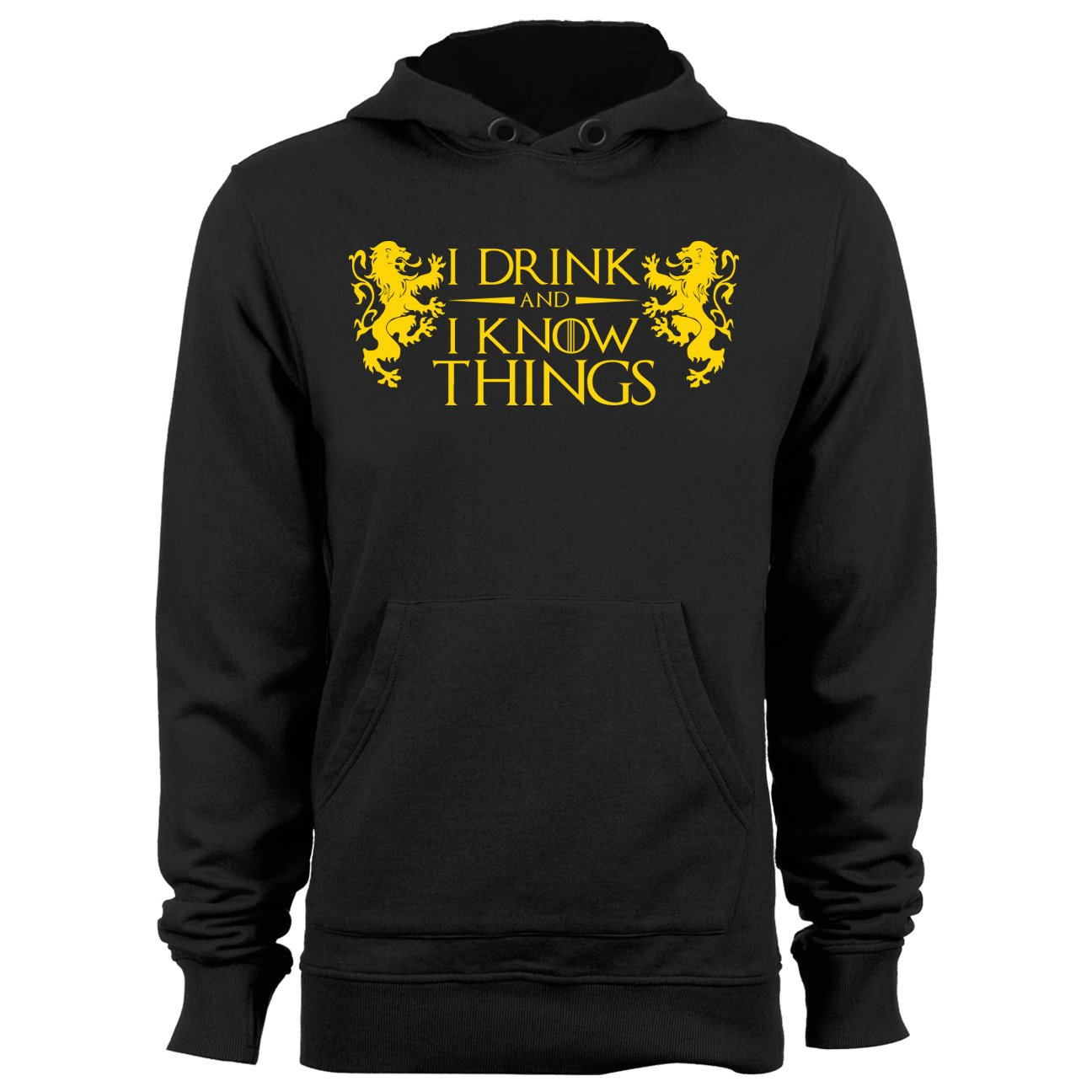 Drink and Know Hoodie