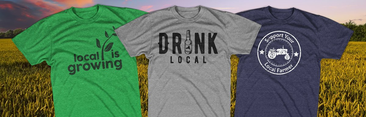 Local Themed T-Shirts
