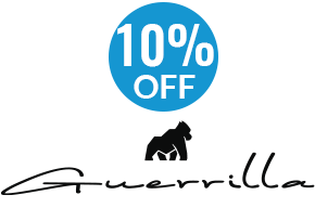 Guerrilla Tees 10% off