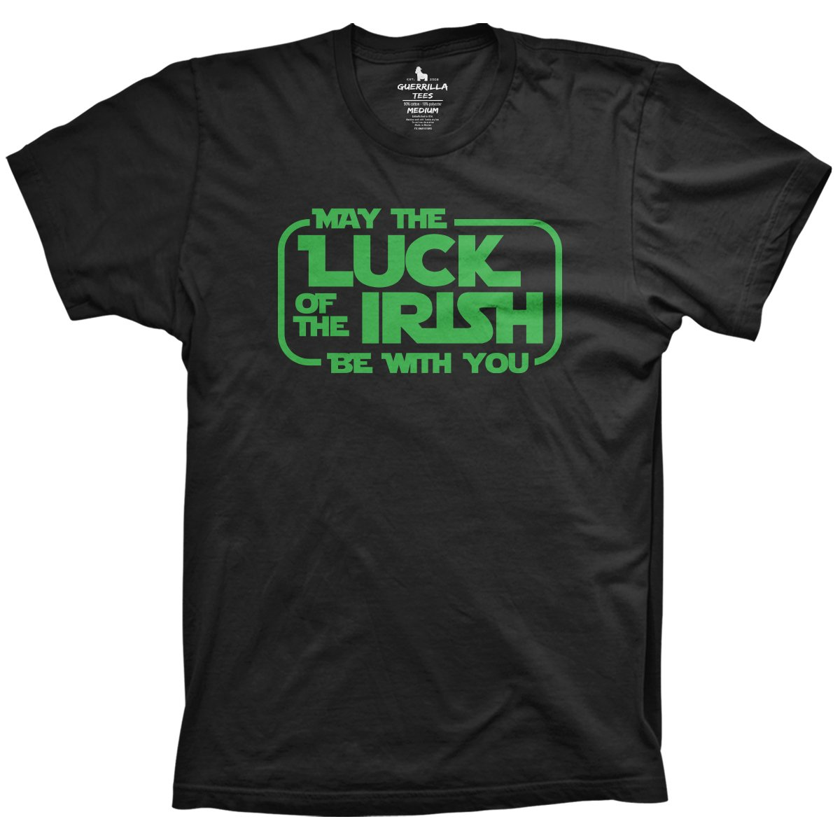 76bdfc1a3 Luck of the Irish | St Patrick's Day T-Shirts | Guerrilla Tees