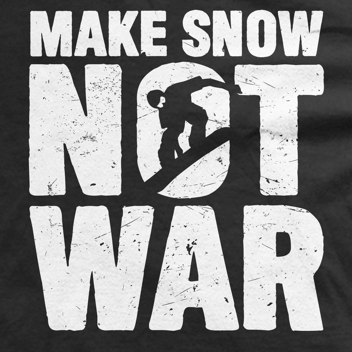 Make Snow Not War T-Shirt