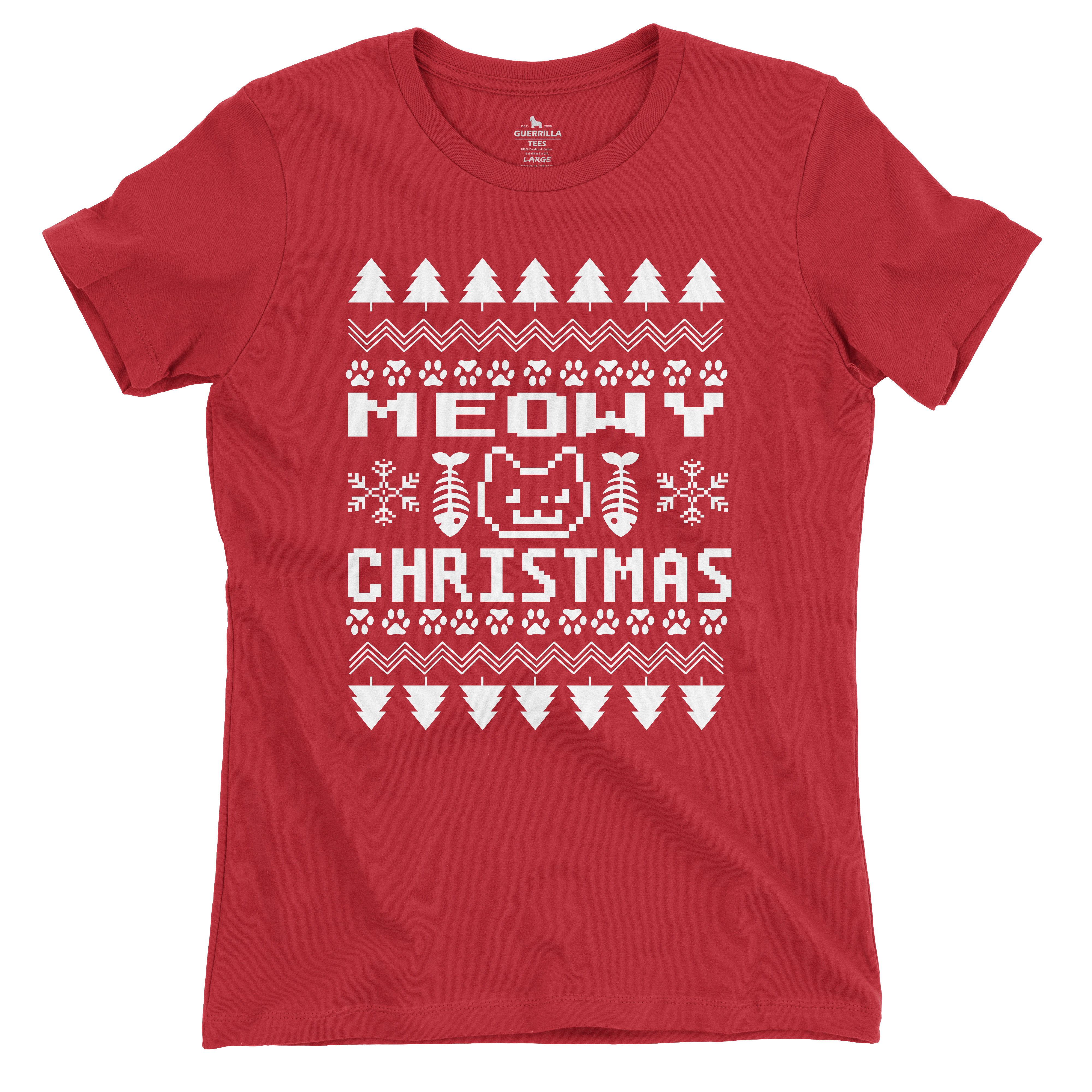 Women Meowy Christmas