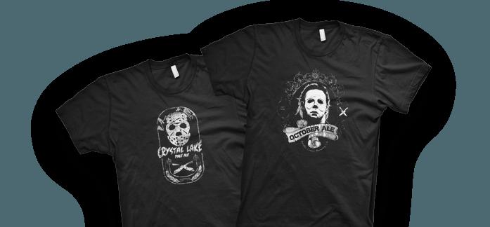 Meyers and Jason T-shirts