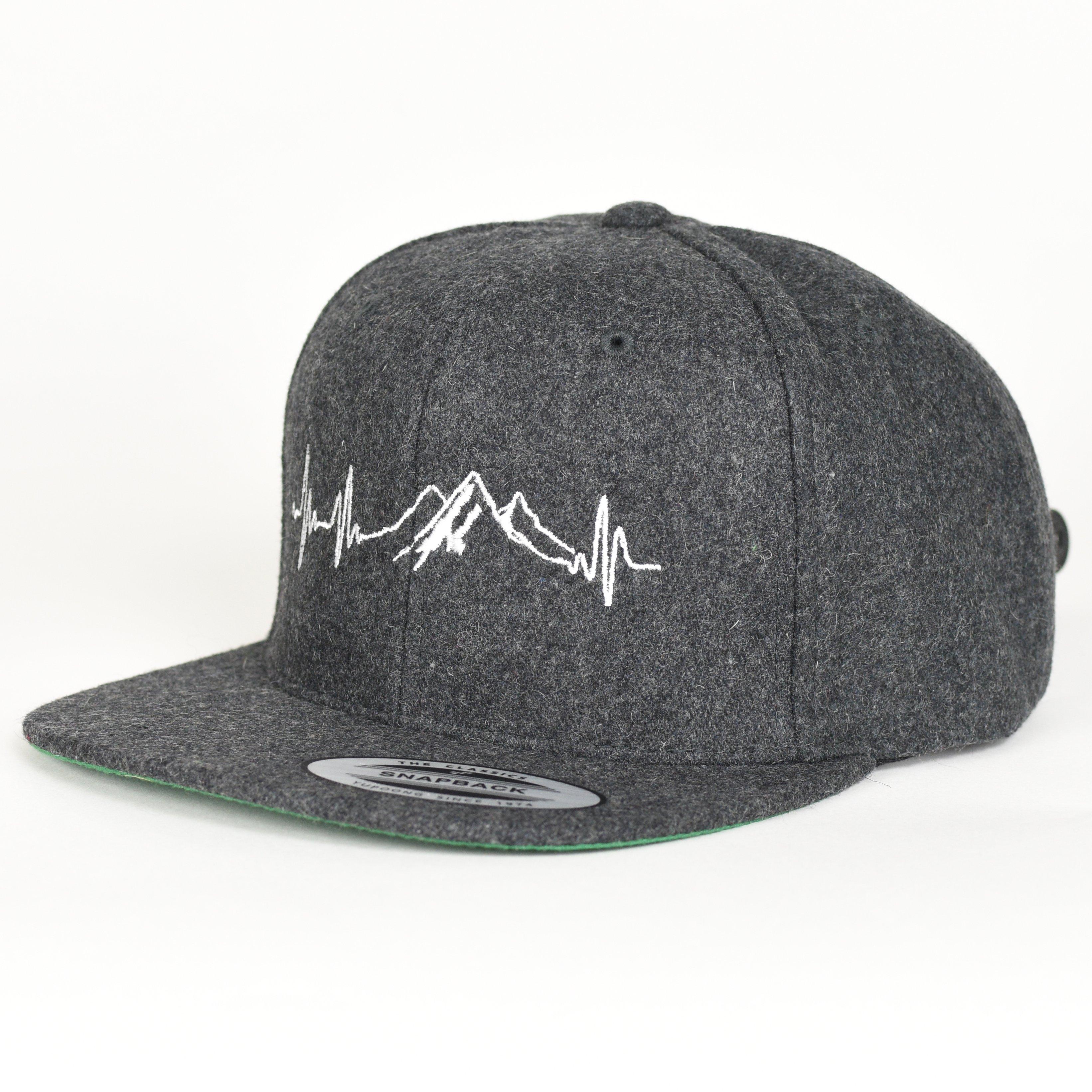 Mountain EKG Hat