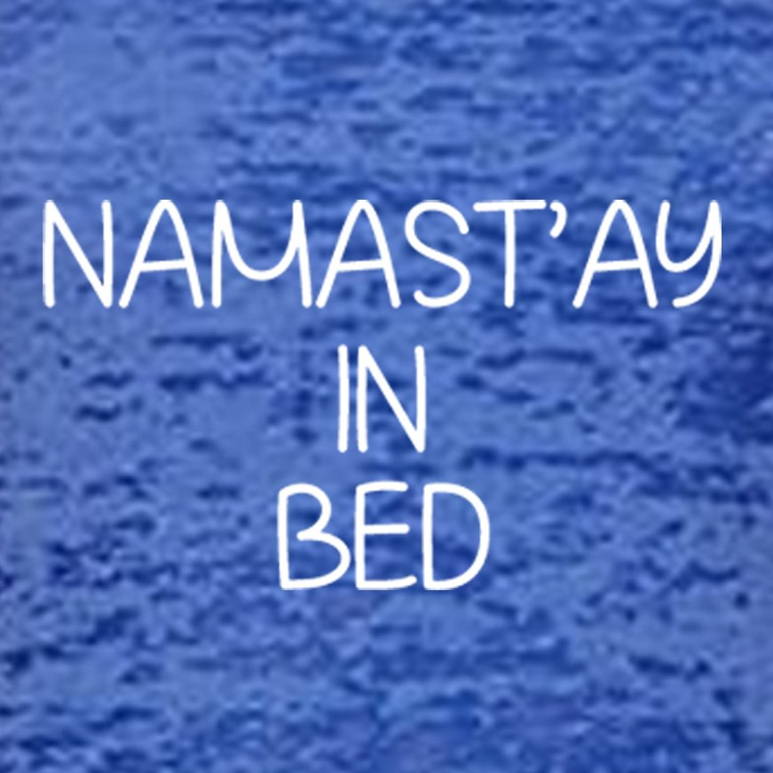 Namast'ay In Bed Women's Tank Top