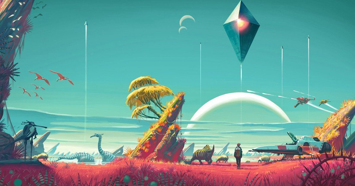 Five Gaming Tshirts to Celebrate the Release of No Man's Sky