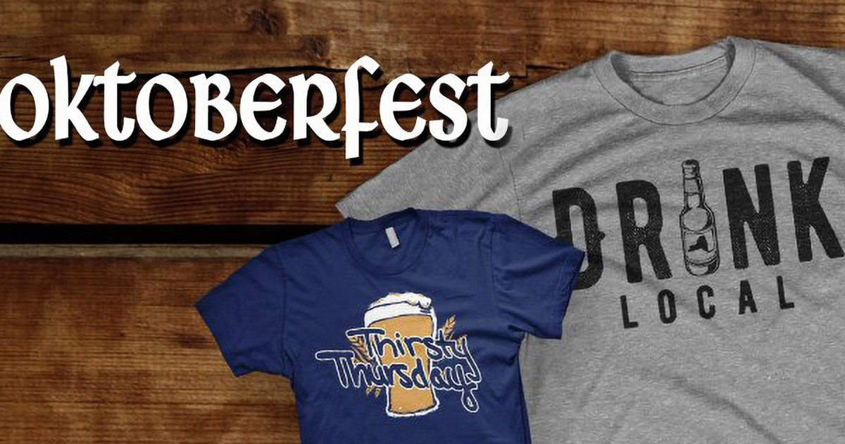 5 Funny Beer Shirts to Celebrate Oktoberfest