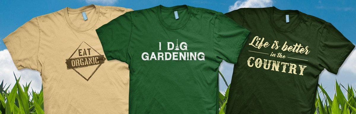 Organic Foods and Farming T-Shirts