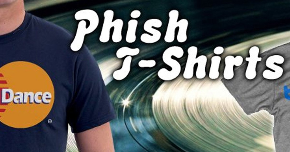 10 of Our Most Popular Phish Graphic Tees
