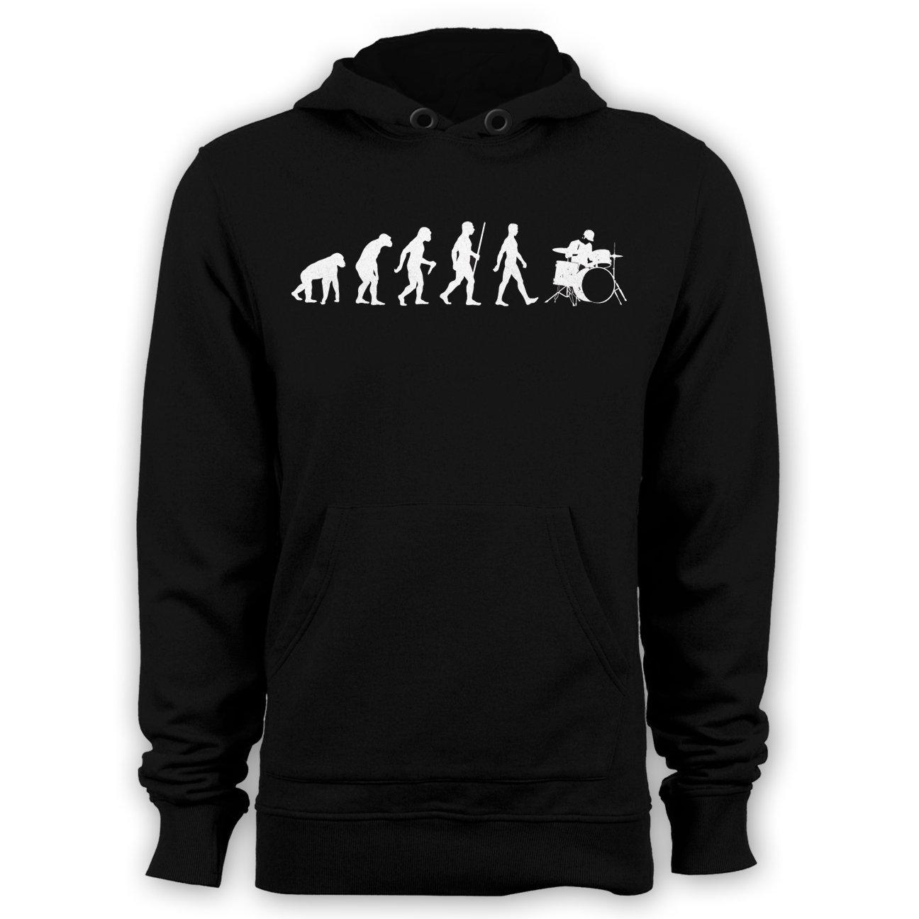 Evolution of Drummer hoodie