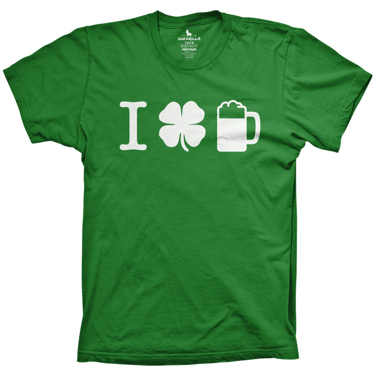 a595aa31c I Shamrock Beer T-Shirt | Buy St Patricks Day T-Shirts