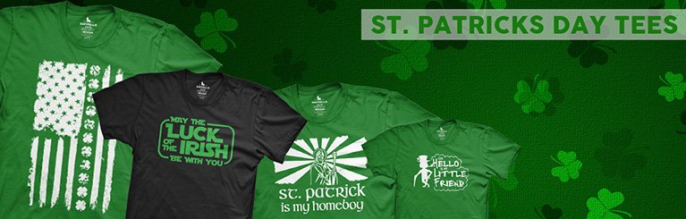 St Patrick's Day T-Shirts