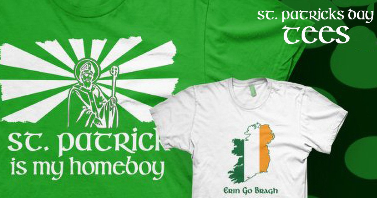 Our Top 10 Fan Favorite St Patrick's Day T-shirts