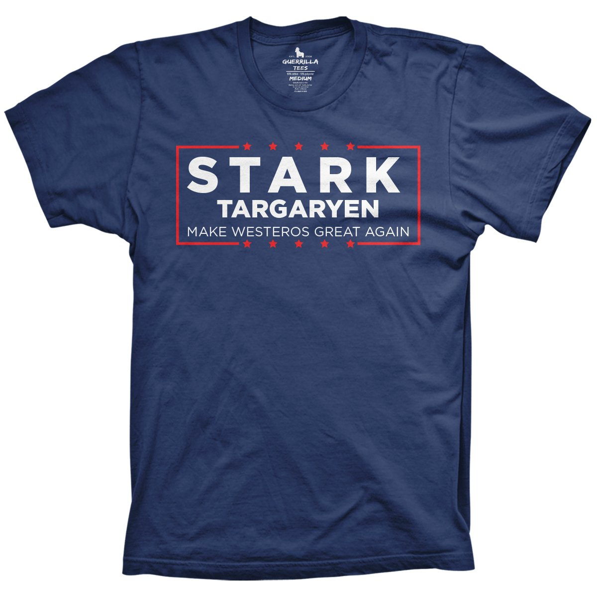 4100818b34 Funny Game of Thrones Shirt | Stark Targaryen | Guerrilla Tees