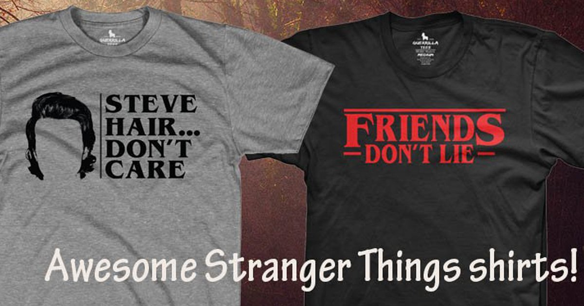 7 Awesome Stranger Things T Shirts