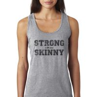 Strong new skinny woman's tank top