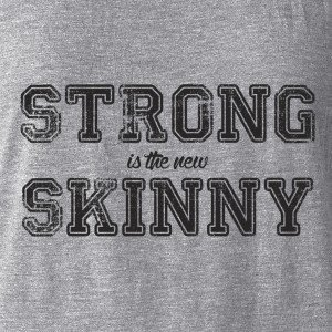 Strong is the New Skinny women's tank top