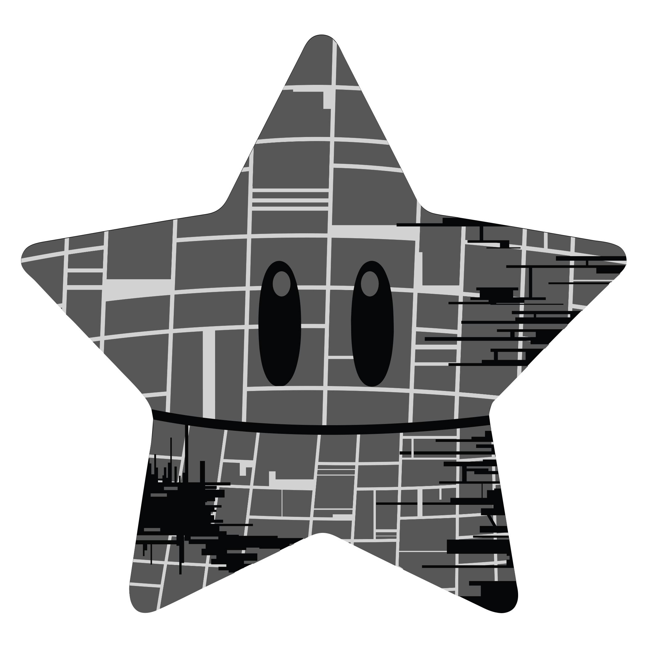 Super Death Star Sticker