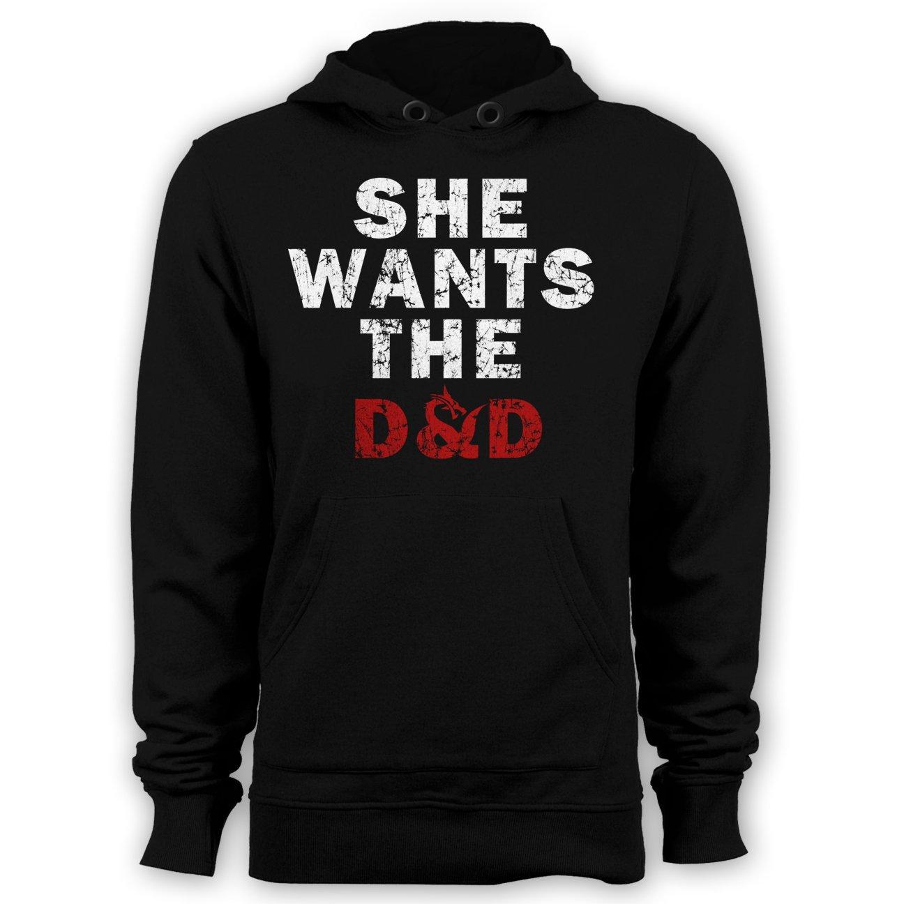She Wants D&D Hoodie