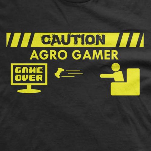 Caution Agro Gamer Shirt